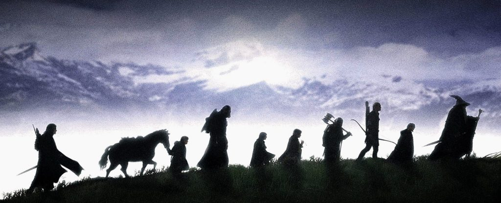 Pán prstenů, Tolkien, top 5 knih, film