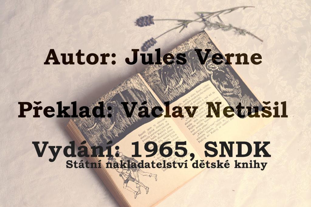 Cesta do středu Země, Jules Verne