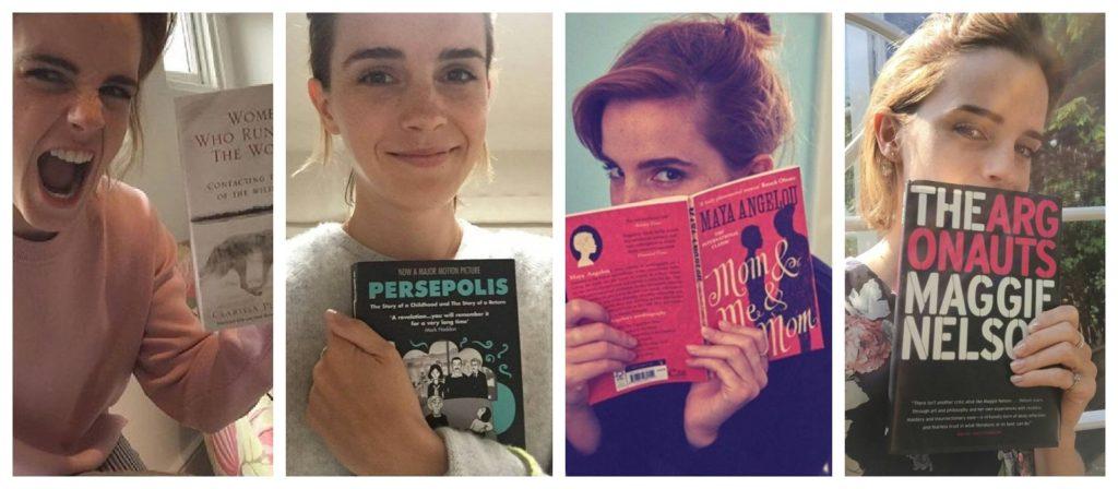 Čtení se slavnými herečkami! Znáte jejich knižní kluby? klub