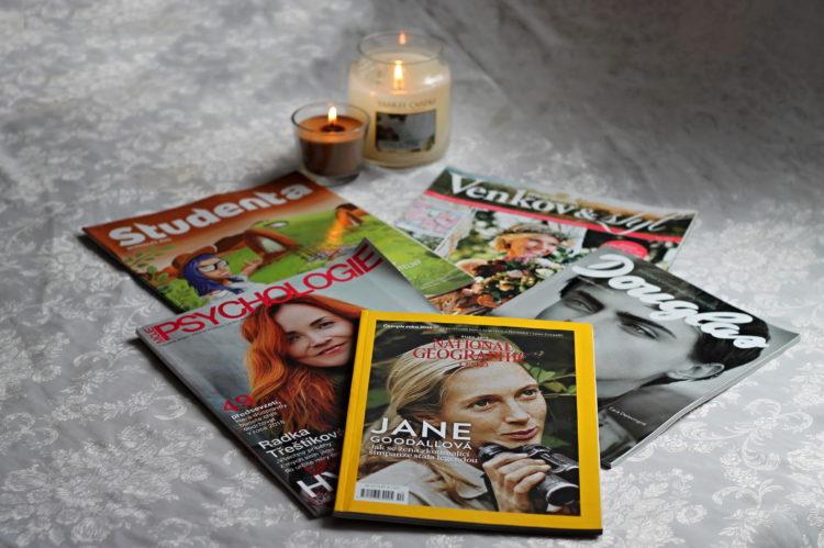 TOP 5 časopisů, které baví i informují, foto: Petra Stenzelová