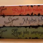 Recenze: Drahokamy (Rudá jako rubín; Modrá jako safír; Zelená jako smaragd) – Kerstin Gier