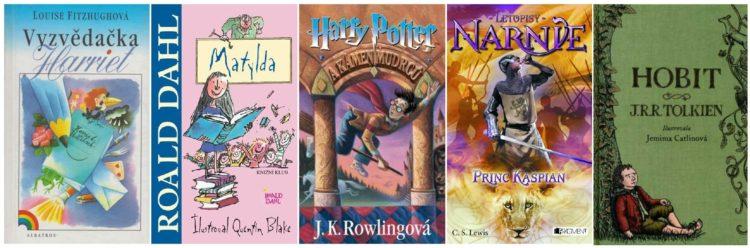 top 5 knih pro mladé dívky