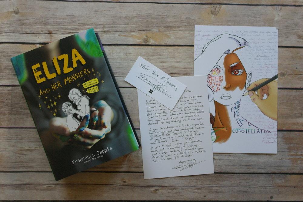 Recenze: Eliza a její nestvůry - Francesca Zappia